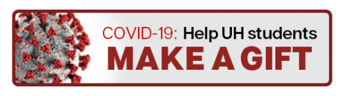 COVID-19: Help UH students; Make A Gift