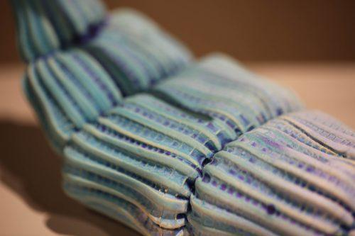 #141 by Christopher Edwards; Ceramic, polymer