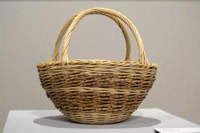 A Tisket A Tasket by Gail M. Toma; Fiber Basketry